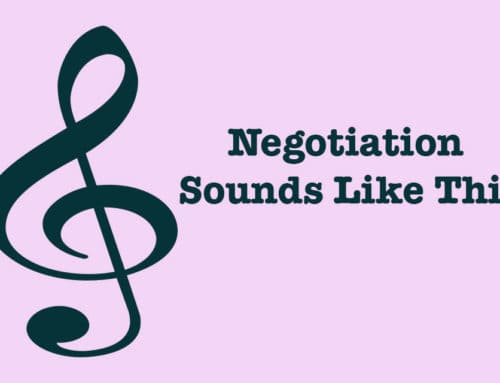 The Sound of Negotiation
