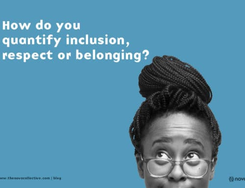 How do you quantify inclusion, respect, or belonging?