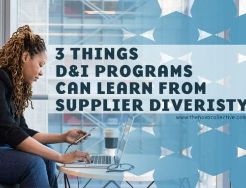 3 Things D&I Programs Can Learn From Supplier Diversity
